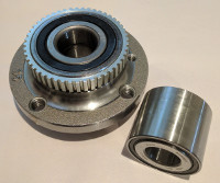 a car wheel bearing